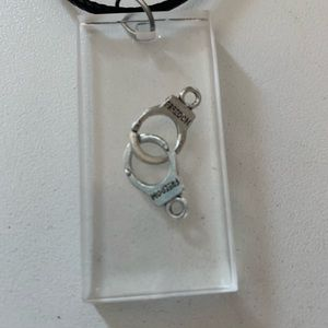 Jewelry - Resin FREEDOM handcuff charm necklace